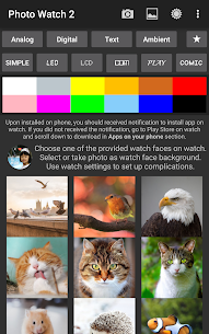 Photo Watch 2 (Android Wear 2) v4.4 [Paid] APK 5