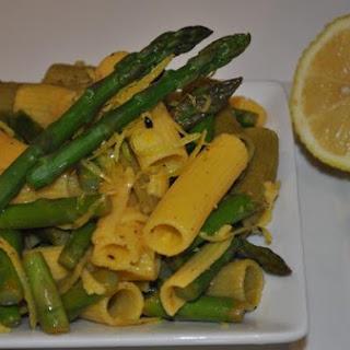 Zesty Lemon and Asparagus Pasta