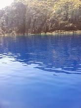 Photo: Blue water cruising.