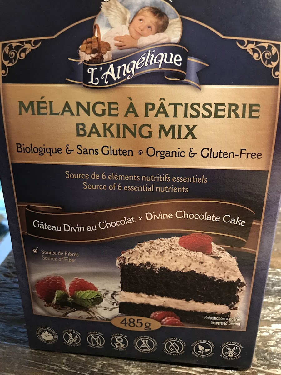 Divine Chocolate Cake Mix