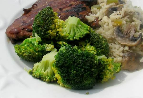 Broccoli With Mustard Dressing Recipe