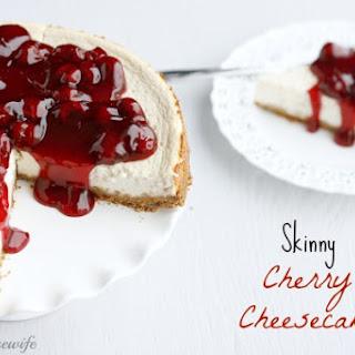 Skinny Cherry Cheesecake