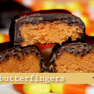 (20 Crafty Days Of Halloween) Candy Corn Butterfingers.
