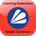 Badminton Singles Correction 1 icon
