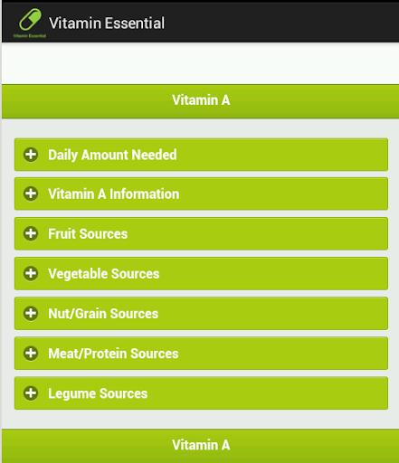 Vitamin Essential