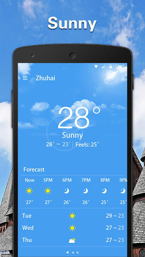 Simple Weather Forecast  screenshots 1
