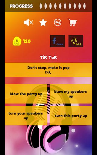 Finish The Lyrics - Free Music Quiz App 3.0.0 screenshots 15