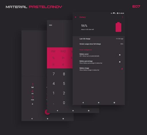 PitchBlack - Substratum Theme u272a Nougat/Oreo/Pie  screenshots 20