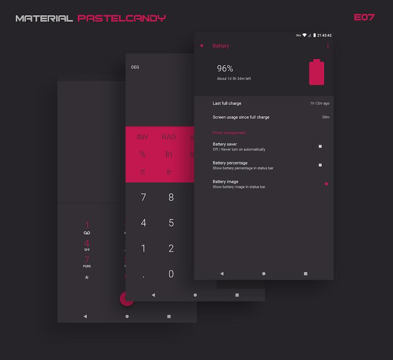 PitchBlack│Substratum Theme ✪ Nougat✔Oreo✔OOS 8.0½ Screenshot 19