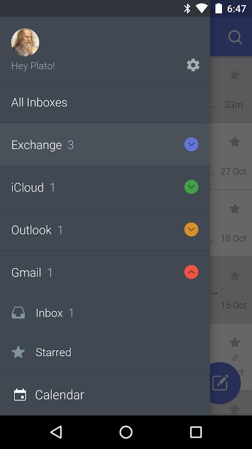 CloudMagic- screenshot