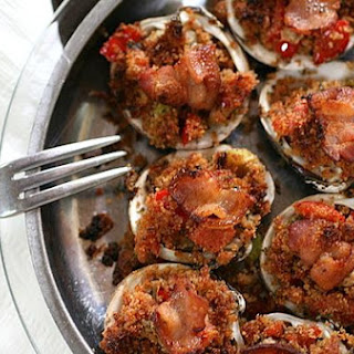 Okracoke Clams Casino