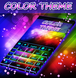 Color Themes Keyboard screenshot 3