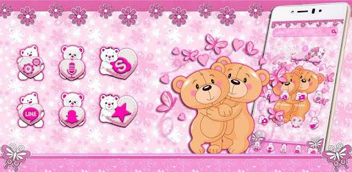 Lucu Teddy Bear Tema Aplikasi Di Google Play