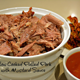 Pulled Pork with BBQ Mustard Sauce