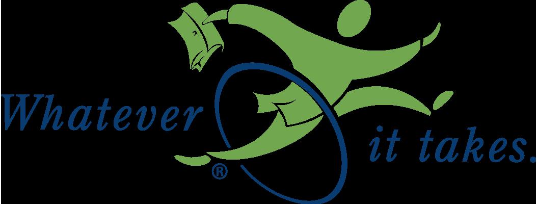 Whatever it takes. logo