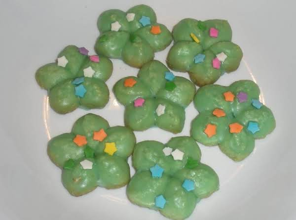 Pistachio Spritz Cookies (almond Flour)
