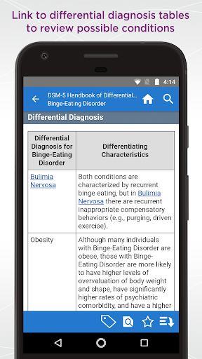 DSM-5 Differential Diagnosis 2.7.52 screenshots 4