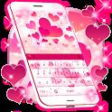 Pink Love Keyboard icon