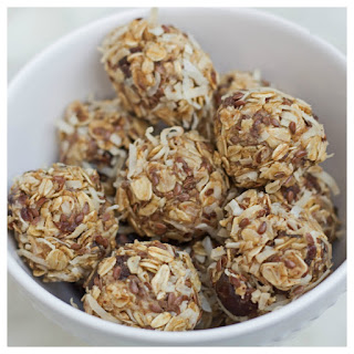 No-Bake Coconut Date Energy Bites.