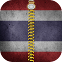 Thailand Flag Lock Screen HD icon
