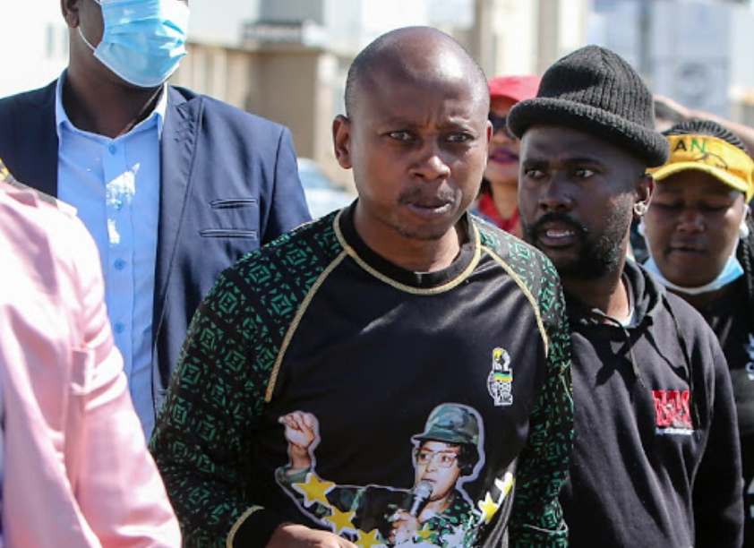 Andile Lungisa caught on camera criticising judges who jailed him - HeraldLIVE