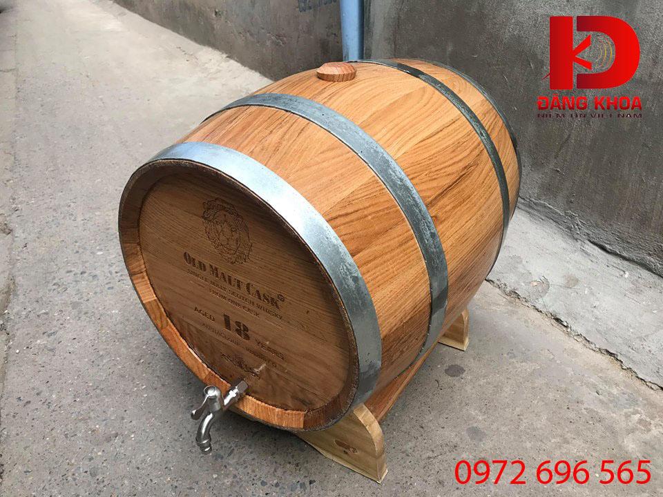 Rượu ngâm trong thùng gỗ sồi tốt cho sức khỏe