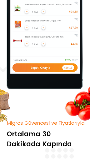 Migros Hemen - screenshot
