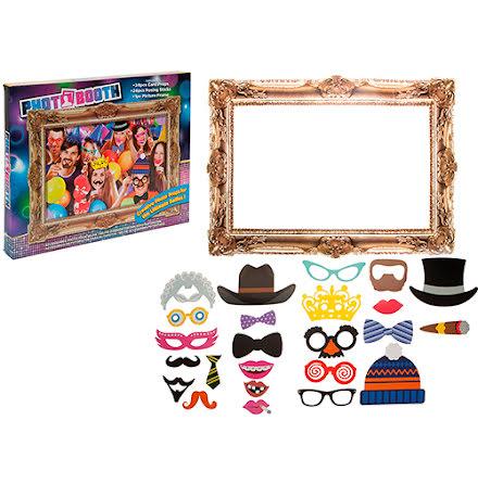 Photobooth-kit med ram - Party