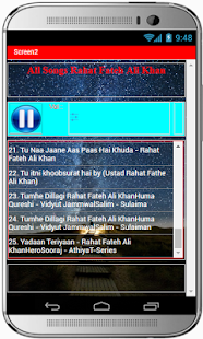 All Songs Rahat Fateh Ali Khan - náhled