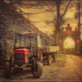 Tractor by Jana Vondráčková - Uncategorized All Uncategorized