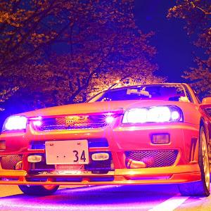 スカイライン R34 ER34 GT-tのカスタム事例画像 べんべんさんの2020年04月06日20:02の投稿