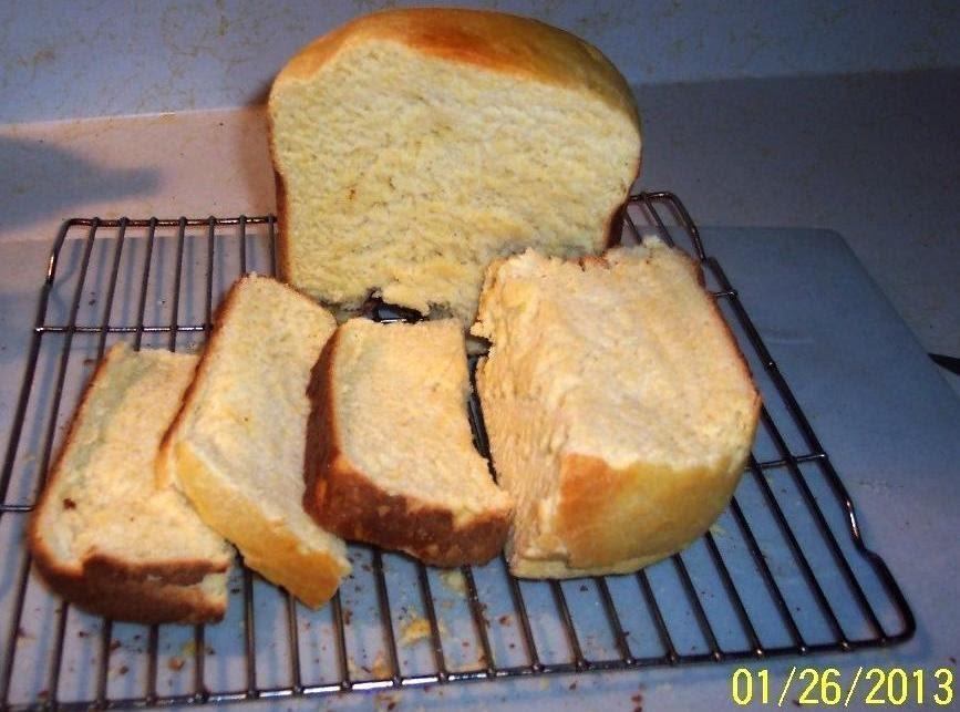 Cornmeal Bread Machine Made | Just A Pinch Recipes