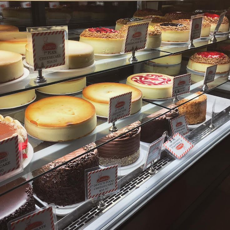 What is your preferred cheesecake? Photo: Karin O'Keefe.