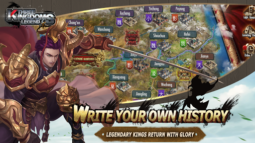 Three Kingdoms Legend-Free Strategy Game Role Play Hack, Cheats