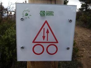 Photo: Chemin à double sens ?