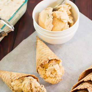 No Churn Pumpkin Pie Ice Cream