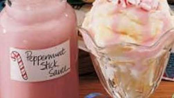 Peppermint Stick Sauce Gift In A Jar