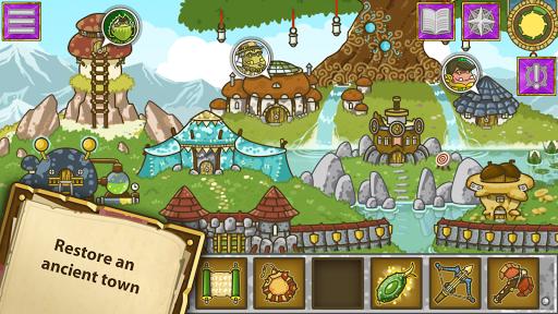 Griblers: offline RPG / strategy game screenshots 1