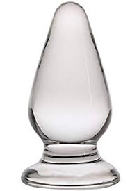 Analplugg Glas