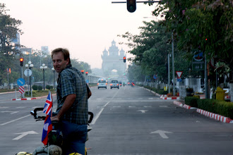 Photo: Day 308 - Leaving Vientiane in the Early Morning