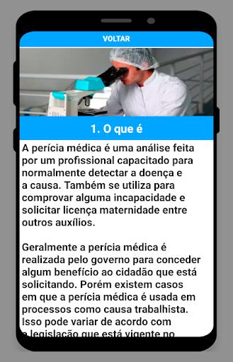 Perícias Médicas screenshot 2