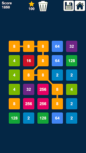 2048 Connect n Merge Numbers: Free Merge Puzzle ss2