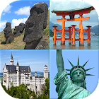Famous Monuments of the World - Landmarks Quiz icon