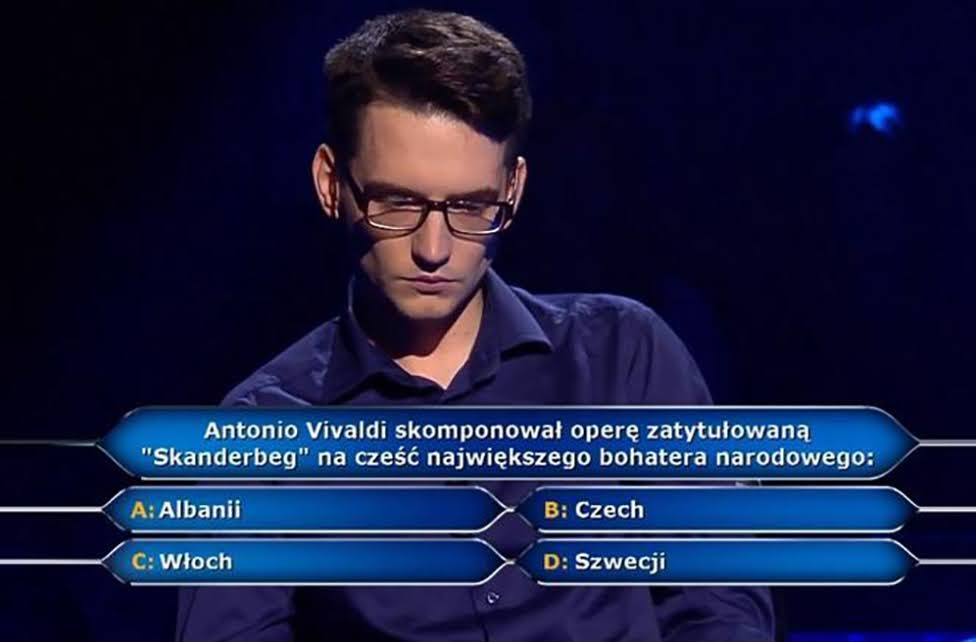 Milionerzy TVN - Skanderbeg