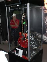 Photo: Guitar Center Legends booth: Clapton's Cream-era ES-335