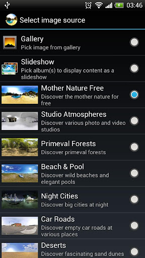 ... Photosphere HD Live Wallpaper screenshot 6 ...