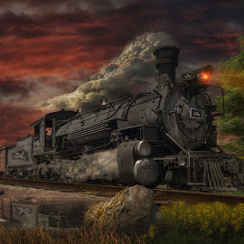by Bruce Cramer - Transportation Trains (  )