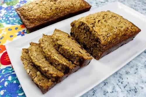 "Delicious Zucchini Bread ""This is a remarkable spiced zucchini bread recipe. Easy..."