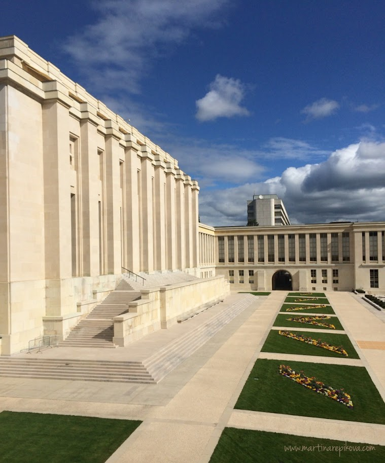 Palais des Nations, UN headquarters in Geneva, Switzerland