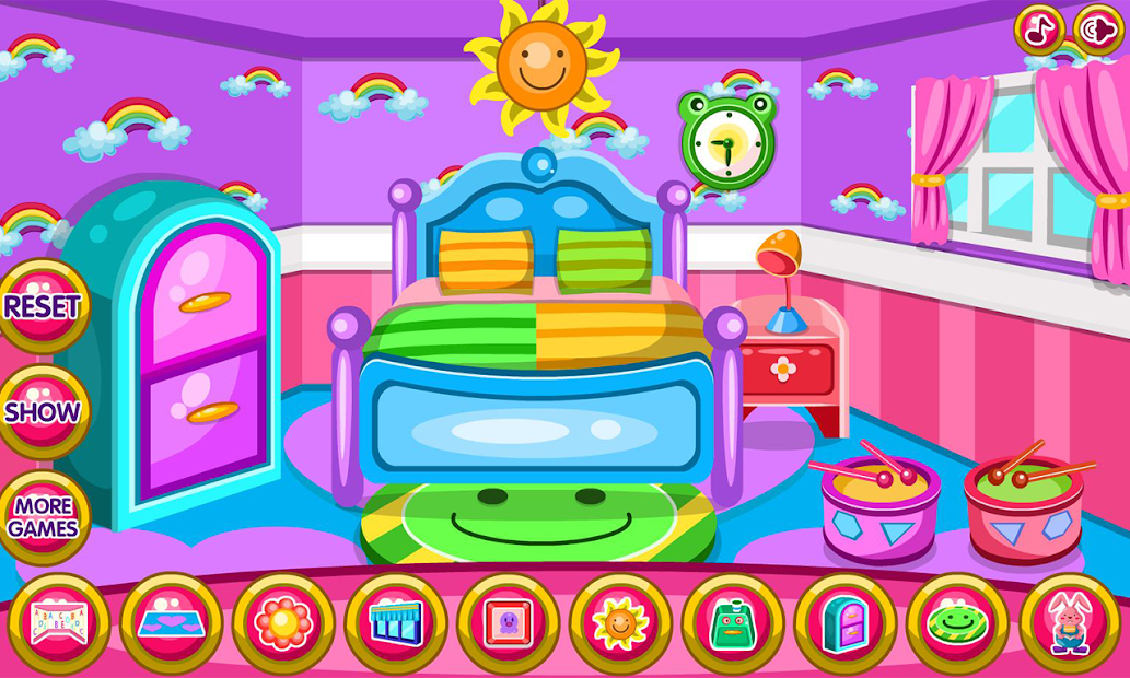 Twin newborn room decoration game apps on google play for Baby bedroom decoration games